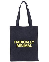 A.P.C. Radically Minimal Tote Bag - Yellow
