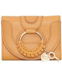 See By Chloé Portefeuille compact Hana - Multicolore