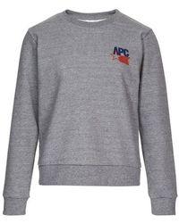 A.P.C. Claudius Sweatshirt - Grey