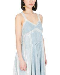 Koche Lingerie Dress - Blue