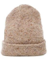 Acne Studios - Peele Ribbed Wool-blend Beanie Hat - Lyst