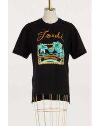 Fendi - Short-sleeved T-shirt - Lyst