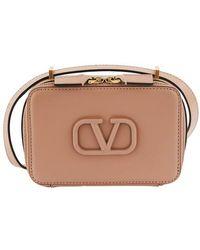 Valentino Valentino Garavani Small Vsling Cross Body Bag - Pink