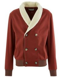 Éditions MR Lambert Double Breasted Jacket - Red