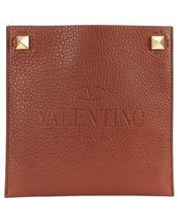 Valentino Garavani Garavani - Small Flat Bag - Brown
