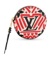 Louis Vuitton Lv Crafty Round Coin Purse - Multicolour