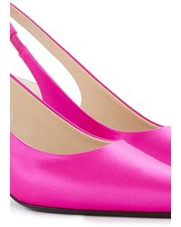 The Row Bourgeoise Sling In Bright Pink