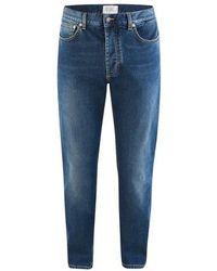 Givenchy Slim Fit Denim Pants - Blue