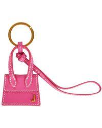 """Jacquemus Der Schlüsselanhänger Chiquito"""" - Pink"""