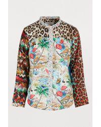 c5248459b16d5 La Prestic Ouiston - Peace Shirt - Lyst