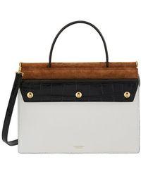 Burberry Title Handbag Small Model - Black