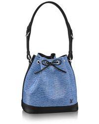 Louis Vuitton Petit Noé - Blau