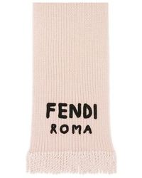 Fendi Foulard Signature - Rose