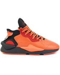 Y-3 Sneakers mit Applikation - Orange