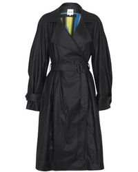Koche Eco Leather Trench - Black