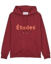 Etudes Studio Hoodie Klein Études - Rot