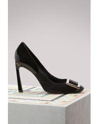 Roger Vivier - Belle Vivier Trompette Court Shoes - Lyst