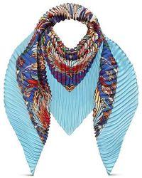 Louis Vuitton Angels Pleated Carré - Blau