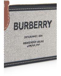 Burberry Logo Clutch Bag - Metallic