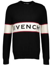 Givenchy Pull à logo - Noir