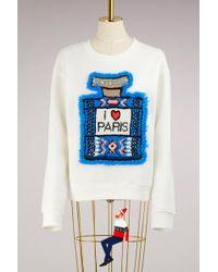 Michaela Buerger - Merino Wool I Love Paris Sweatshirt - Lyst