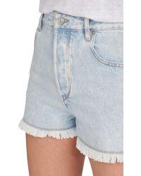 Étoile Isabel Marant Lesiasr Denim Shorts - Blue
