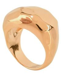 Aurelie Bidermann Ornella Ring - Metallic