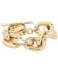 Paco Rabanne Xl Link Bracelet - Metallic