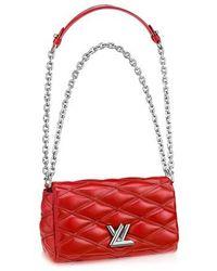 Louis Vuitton GO-14 Mini - Rot