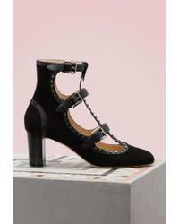 Jimmy Choo | Hartley 65 Suede Ankle Boots | Lyst