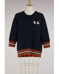 Anya Hindmarch - Modal Eyes Sweatshirt - Lyst