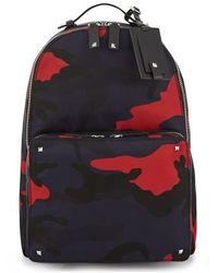 Valentino Valentino Garavani Camouflage Backpack - Multicolor