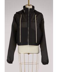 Rick Owens - Windbreaker Short Jacket - Lyst