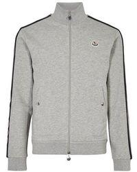 Moncler 'servieres' Logo Patch Down Puffer Jacket - Blue