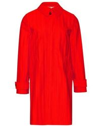 A.P.C. Dinard Trench Coat - Red