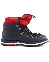 Moncler Schuhe Henoc Gum - Blau