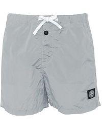 Stone Island Swim Shorts - Grey