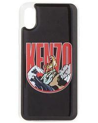 KENZO Logo Iphone Case - Black