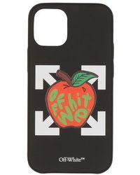 Off-White c/o Virgil Abloh Coque iPhone 12 Mini - Multicolore