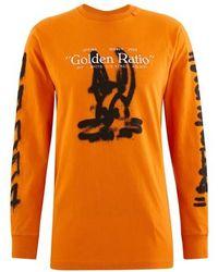 Off-White c/o Virgil Abloh Cartoon T-shirt - Orange