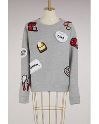 Michaela Buerger Baking Cotton Sweatshirt - Gray