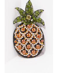 N°21 - Pineapple Brooch - Lyst