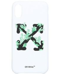 Off-White c/o Virgil Abloh Iphone Xs Case - White