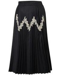 Jil Sander Mari Skirt - Black