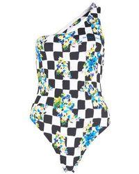 Off-White c/o Virgil Abloh Check Swimsuit - Multicolour