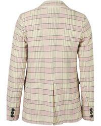 Forte Forte Tartan Jacket - Pink