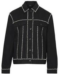 Burberry Feelee Denim Jacket - Black