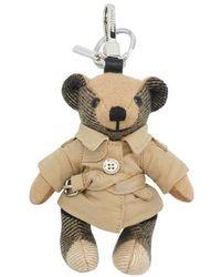 Burberry Schlüsselanhänger Thomas Bear Trench - Natur