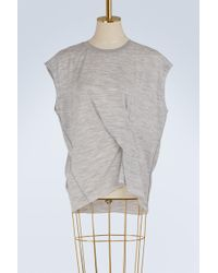 Rag & Bone - Draped Top - Lyst