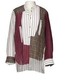 Loewe Asymmetric Shirt - Red